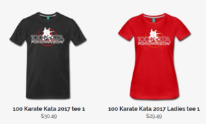 Click here for 100 Kata tshirt store