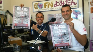 At FM Yomitan with DJ Nakasone
