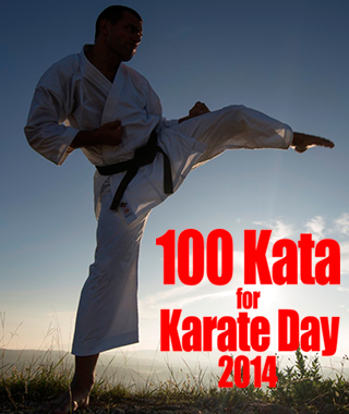 100 Kata for Karate Day