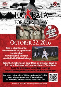 100 Kata for Karate Day 2016 ENG