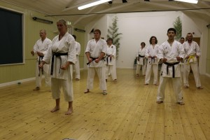 Sizewell and Leiston Karate clubs (Seishin KyoKai) Leiston United Kingdom