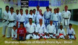 Blumenau Institute of Karate Shorin Ryu Brazil